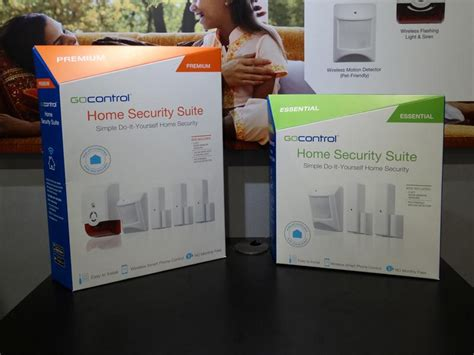 gocontrol home security suites released by nortek security