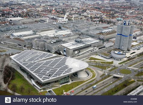 bmw factory bmw welt or bmw munich germany with the bmw