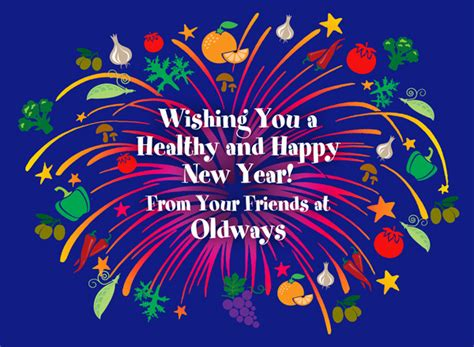 wishing you a happy and healthy new year oldways
