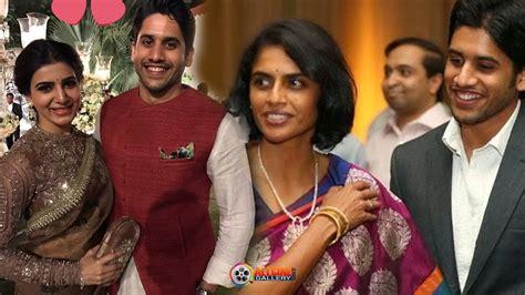 actor nagarjuna family photo actor naga chaitanya family photos with samantha