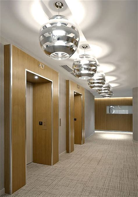 elevator lobby   horseshoe framing feature