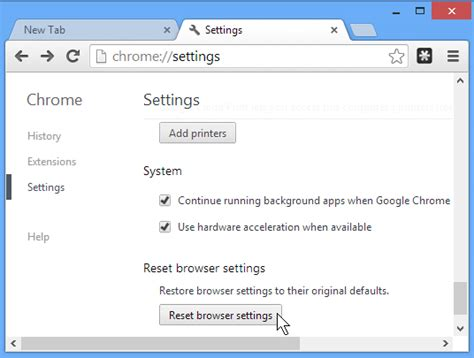 reset android chrome google adds new reset to default option to chrome