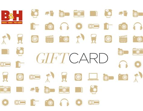 B H Gift Card Balance - gift cards b h photo video