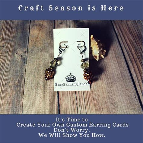 how to make jewelry cards how to design your own earring cards with quot canva quot easy