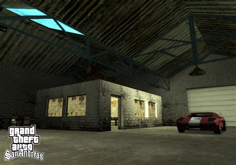 Gta Sa Car Garage Mod by Grand Theft Auto San Andreas
