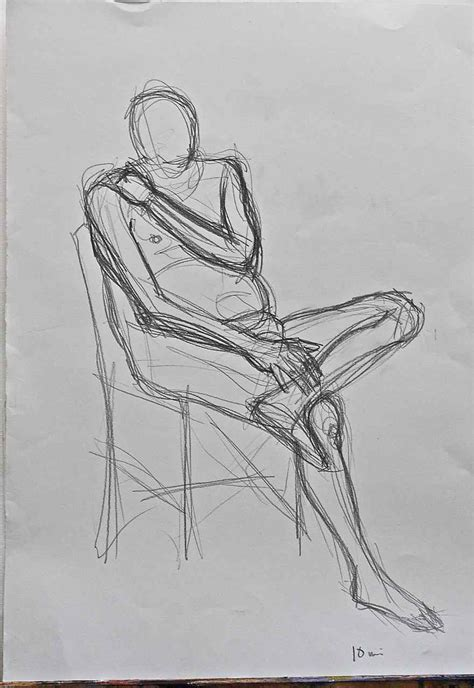 1 Minute Pose Sketches by Drawing 2011 Week 16 Janet S Jottings