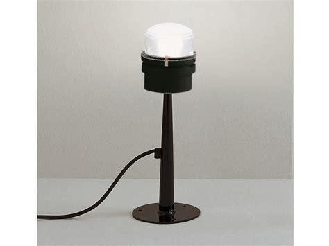L Post Light Doesn T Work by Oluce Fresnel Small Black Outdoor Post Light 1148 Ec