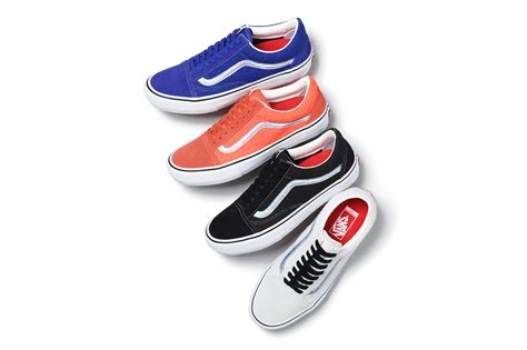 vans supreme supreme vans 2016 iridescent collection hypebeast