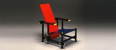 la chaise et bleue culte du design la chaise et bleu de gerrit