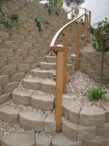 Exterior Stair Handrails Metal Curved Outdoor Stair Rail