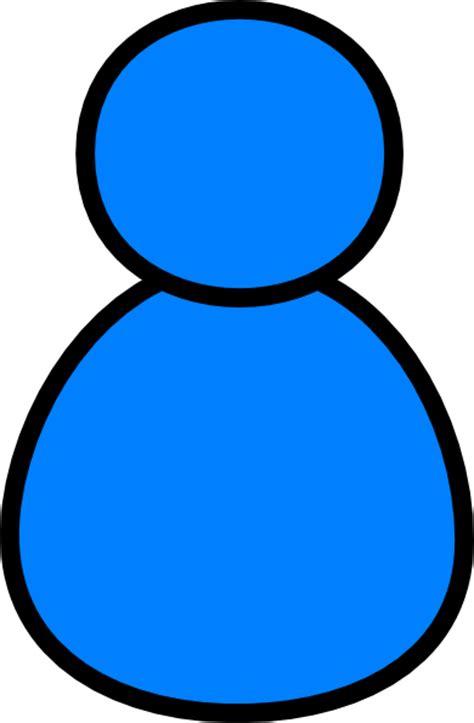 clipart computer user blue user clip at clker vector clip