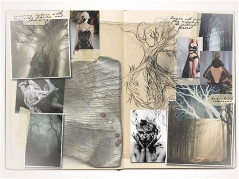 fashion design research book fashion sketchbook fashion design development trees