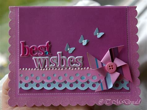 best card messages best wishes pinwheel card