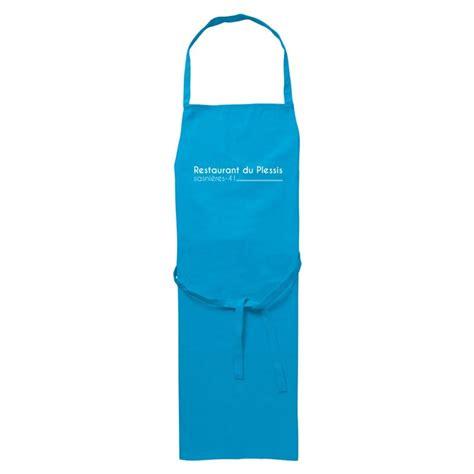cuisine personnalis馥 tablier de cuisine personnalis 233 avec vote logo en coton