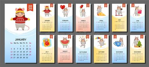 calendar  stock vector illustration  december