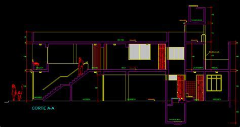 House Multifamily 2D DWG Plan for AutoCAD ? Designs CAD