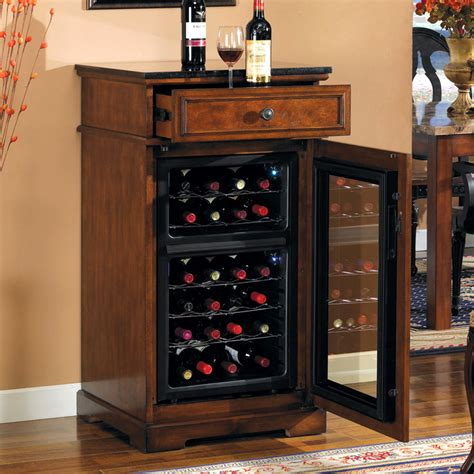 bar cabinet with wine cooler wine cooler cabinets bar cabinet