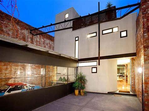 beautiful brick walls warehouse conversion  fitzroy