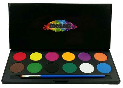 paint painting palette set water activated ebay