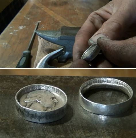 how to make coin rings diy projects craft ideas how to s
