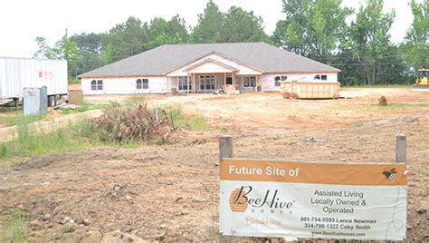 beehive homes construction nears completion daily leader