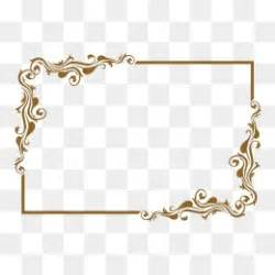 Frame 4r Gold by Gold Color Png Vectors Psd And Clipart For Free
