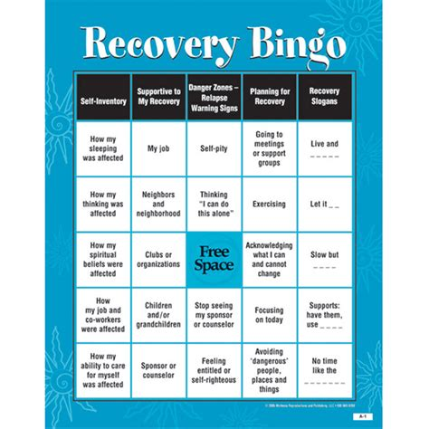 free printable bingo games for adults free print substance abuse games share the knownledge