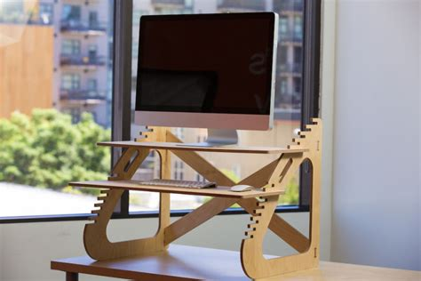 Build A Standing Desk That Build Your Own Standing Desk For About 20