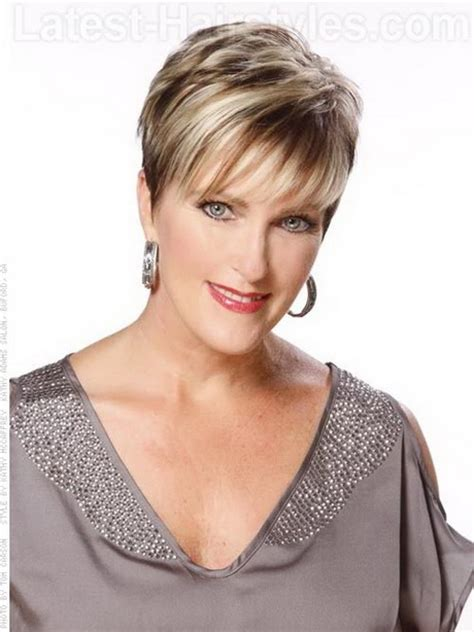 short hairstyles for real women over 40 stylish short haircuts for women over 40