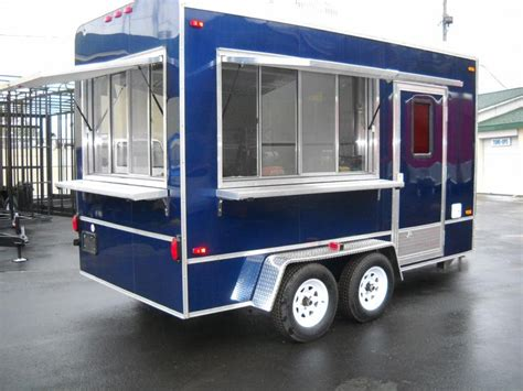 Kitchen Trailers by 1000 Ideas About Food Trailer On Food Truck