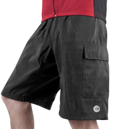 bike clothing aero tech designs mne s cargo shorts with padded liner