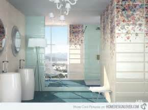 15 Lovely Bathrooms With Decorative Wall Tiles Home Decorative Bathroom Tile