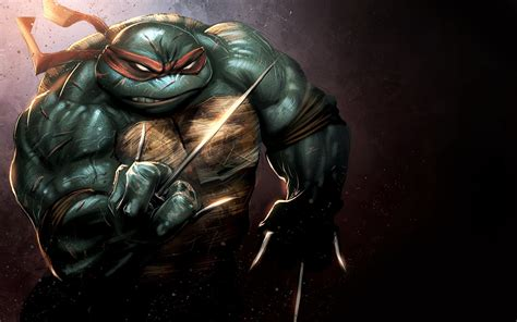 Mutant Turtles Mutant Turtles Raphael Wallpaper 575105
