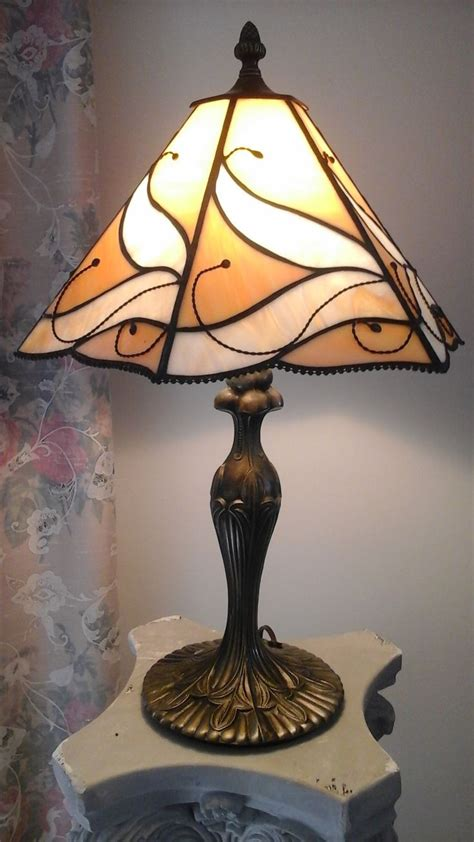 Glass L Base With Shade by Stained Glass L Shades Only 16 For Torch L