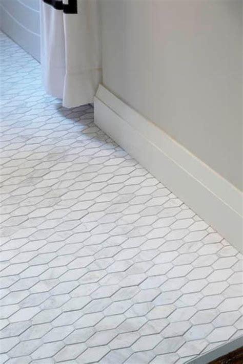 white hexagon tile bathroom 32 white hexagon bathroom tile ideas and pictures