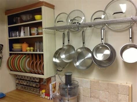 Pots And Pans Rack Ikea 17 best images about kitchens on industrial pot racks and cabinets