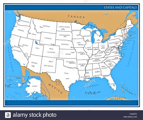 map of united states showing state names united states map showing administrative divisions and