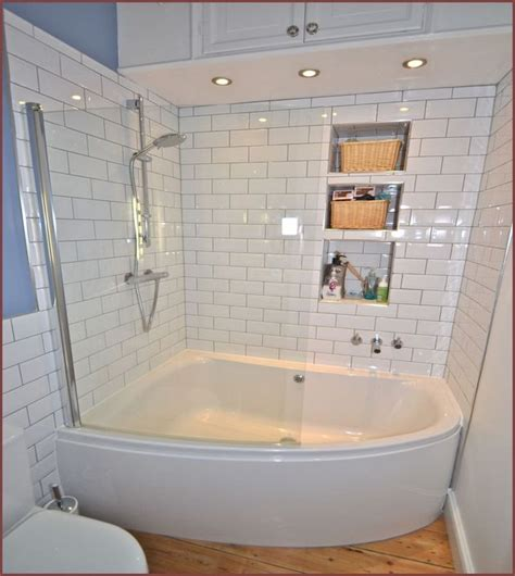 small bathtub size soaking tub with shower combo