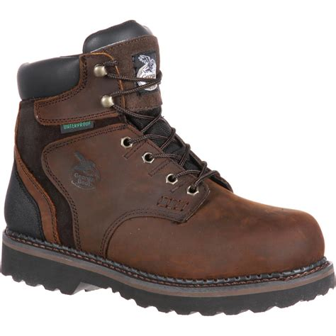 steel toe boots steel toe waterproof work boot brookville g7334