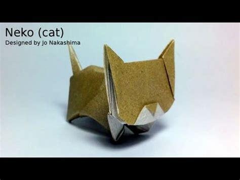 Neko Origami - origami neko cat jo nakashima
