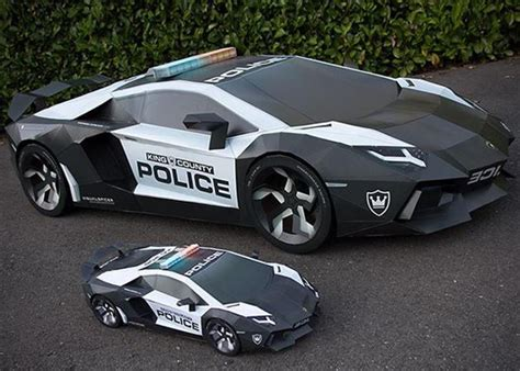 lamborghini made size lamborghini aventador made from paper