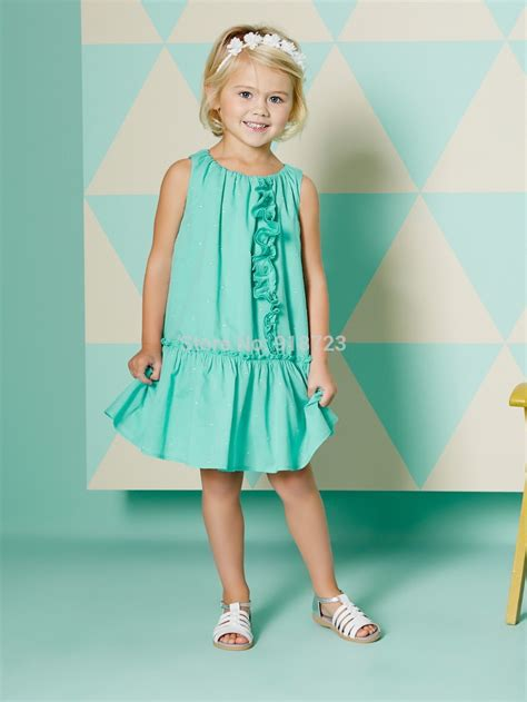 fashion design dress 2015 2015 new summer children clothing girls sleeveless dress
