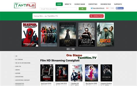 Film Streaming Net | tantifilm nuovo sito per guardare film e serie tv in