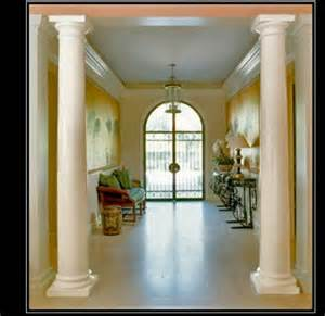 interior columns for homes plain smooth columns architectural decorative plain