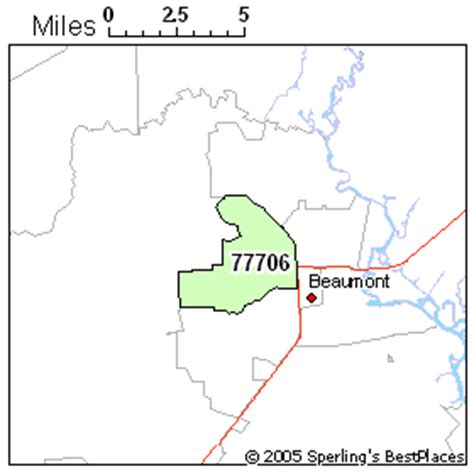 beaumont texas zip code map best place to live in beaumont zip 77706 texas
