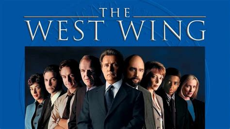 west wing the west wing or on the power of powering through the