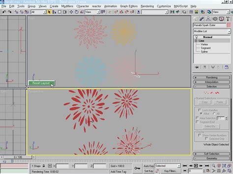 viewport layout 3ds max 3ds max 맥스 뷰포트 viewport 의 면적 조정하기 초기값으로 리셋 reset 하기