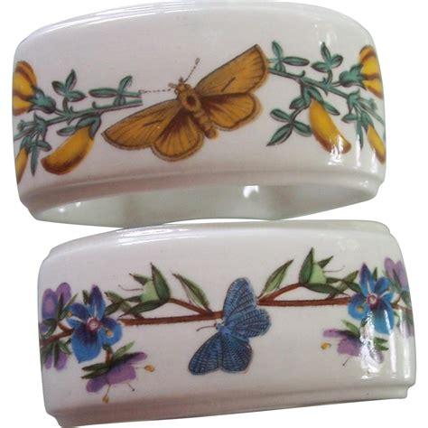 2 Portmeirion Botanic Garden Napkin Rings From Modseller Portmeirion Botanic Garden Napkins