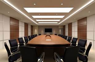 Modern Conference Room Design Wall Unit Design Rendering In Modern Minimalist Meeting