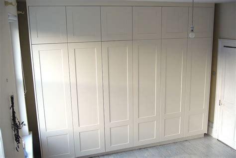 Shaker Wardrobe Doors by Made To Measure Twelve Door Wardrobe By London Carpenter